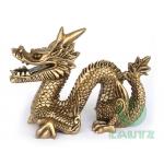 Escultura Dragão Chinês Sentado P