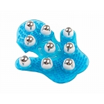 Luva Massageadora c/ esferas Inox