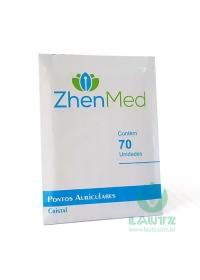 Placa Ponto Cristal Zirconado Micropore - ZhenMedog:image