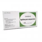 Agulha para acupuntura auricular c/ micropore 1.5mm cx c/ 50 uni Dong Bang (DBC)