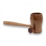 Cachimbo de madeira para moxa - ZhenMed