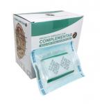 Agulha Auricular 1.5mm s/ Micropore - 20 cartelas c/ 50 unid cada - Complementar