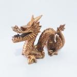 Escultura Dragão Chinês Sentado M