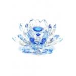 Flor de Lótus Boreal azulada 5x9,5cm