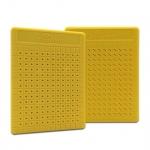 Placa Pequena p/ Ponto Auricular - ZhenMed - Amarelo