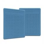 Placa Pequena p/ Ponto Auricular - ZhenMed - Azul