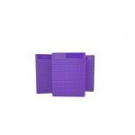 Placa Pequena p/ Ponto Auricular - DUX - Roxo