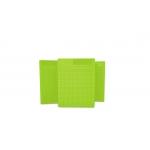 Placa Pequena p/ Ponto Auricular - DUX - Verde