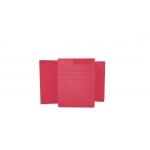 Placa Pequena p/ Ponto Auricular - DUX - Vermelho