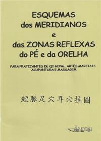 Esquemas dos Meridianos e das Zonas Reflexas do Pé e da Orelhaog:image