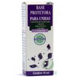 Base Protetora p/ Unhas - Com Óleos Vegetais: Cravo, Melaleuca e Copaíba