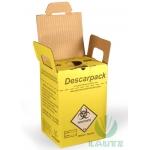 Coletor Descarpack 3 Litros - Kit c/ 4 unid.