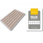 Kit DUX c/2 Placas Ponto Esfera Ouro micropore