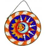 Mandala Formato Sol - Casal Sol e Lua(D)