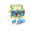Kit de mini Ventosa magnética com 12 Copos